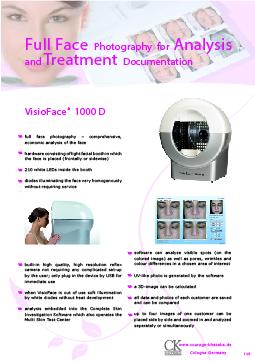 Facial Skin Analysis Machine