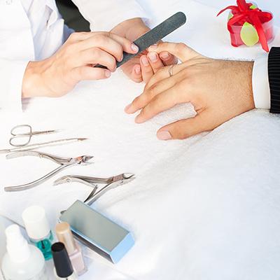 Mens Manicure & Pedicure